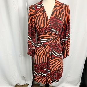 Banana republic Issa London 2 dress animal print